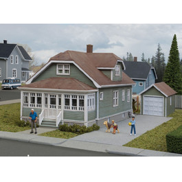 Walthers American Bungalow w/Garage