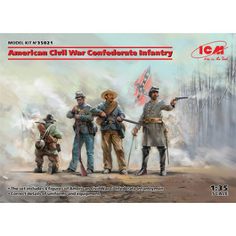 ICM Civil War Confederate Infantry