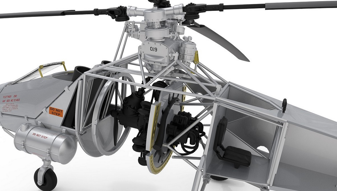 V23 Hummingbird Single Seat Copter