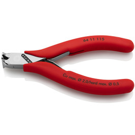 KNIPEX 4.5'' Electronics End Nipper