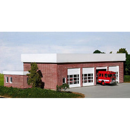 Summit Modern City Fire Station