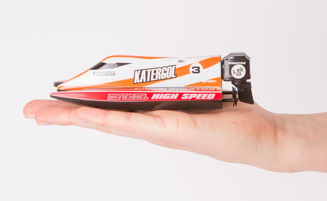 Mini Race Boat by Invento