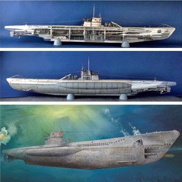 Plastic Ship Kits