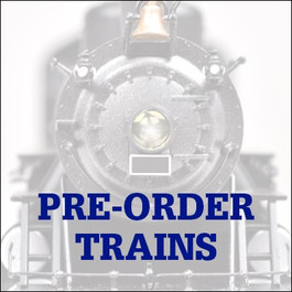 Pre-Order Model Trains